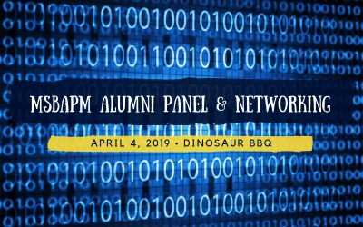 MSBAPM Alumni Panel and Networking