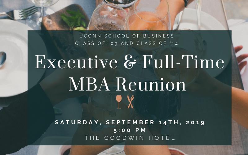 Executive & Full-Time MBA Reunion