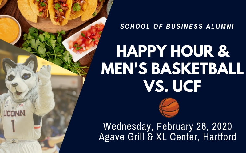 Happy Hour and Men's Basketball Game vs. UCF