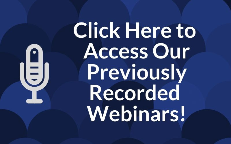Previously Recorded Webinars